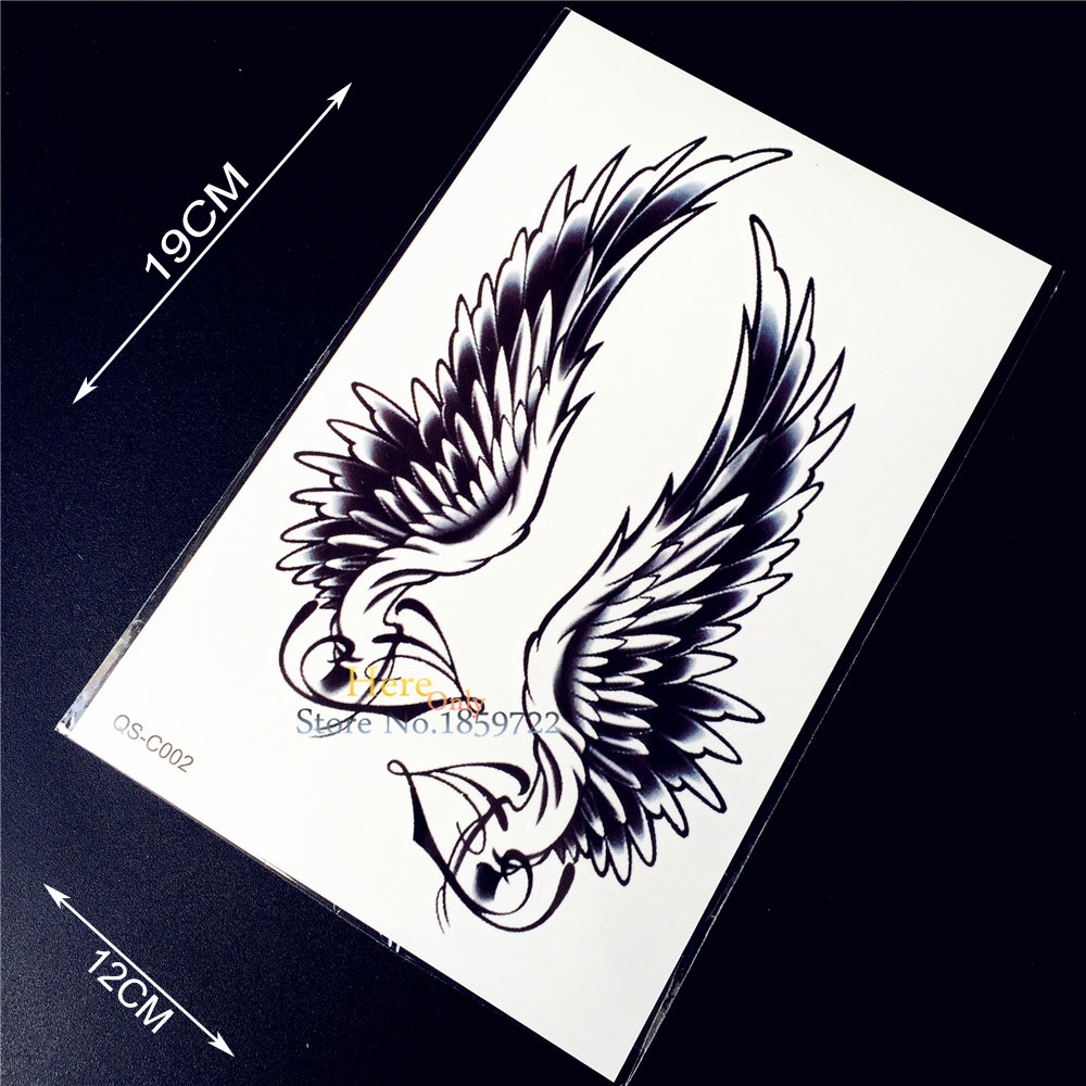 Sexy wing tattoos for women