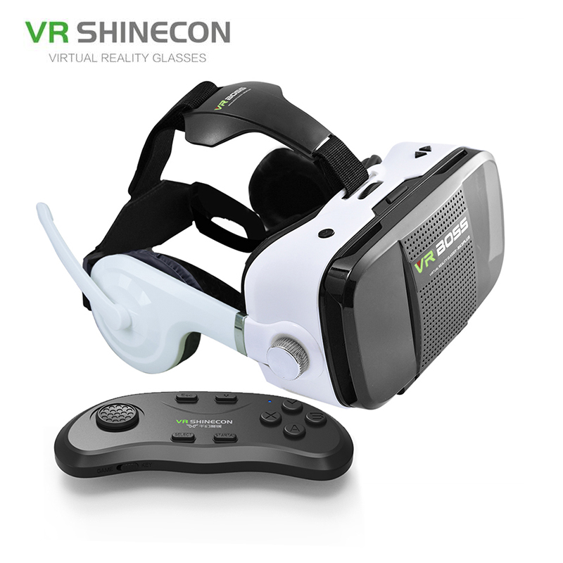 79f79a73638 2018 VR SHINECON Frame Light-Weight Portable 3D VR Box Phone Virtual Reality  GlassesVr Headset Helmet