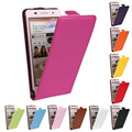 Vertical flip capa de couro genuíno caso do telefone móvel para huawei p6 ultra fino estilo capa celular casos de proteção à prova de choque