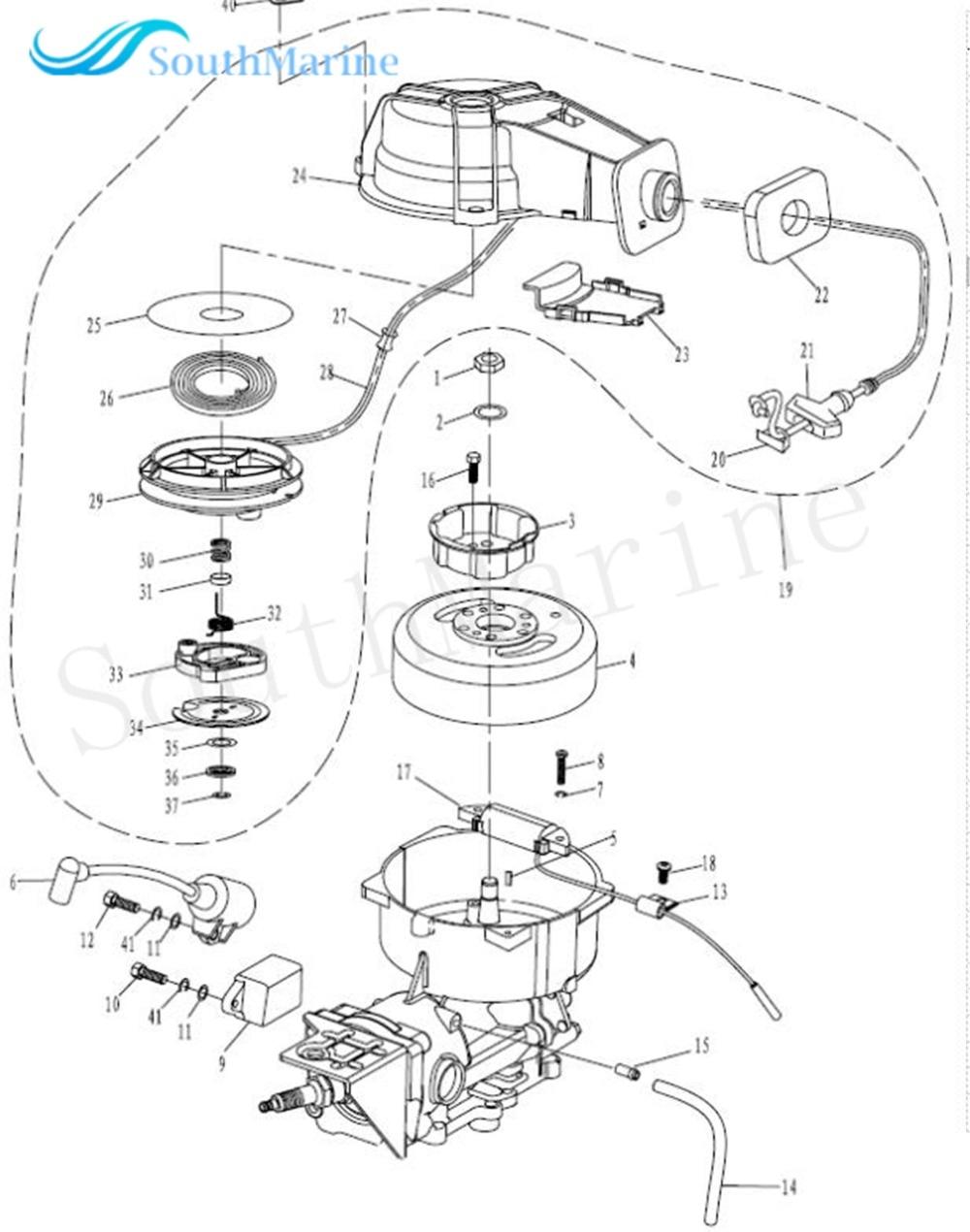 2 Stroke Coil Diagram Wiring Diagram Home