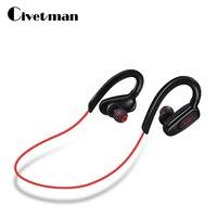 Civetman S5 Waterproof Bluetooth Headset Headphones Wireless Headphone Microphone AptX Sport Earphone For IPhone Android Phone
