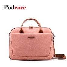 Pink Fashion Notebook Laptop Bag Women Laptop Briefcase Case for 14/15.6 Inch Pocketbook Tablet Bag Bags Case