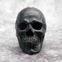 1 PCS Bleeding skull candle crying candles Halloween Large smokeless Skeleton terror candle Red Brain inside Skull Candle