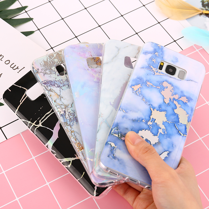 KMUYSL Colorful Marble Phone Case For Huawei P10 Lite Soft Silicone Glossy Back Cover For Huawei P8 P9 Lite 2017 Honor 8 Lite