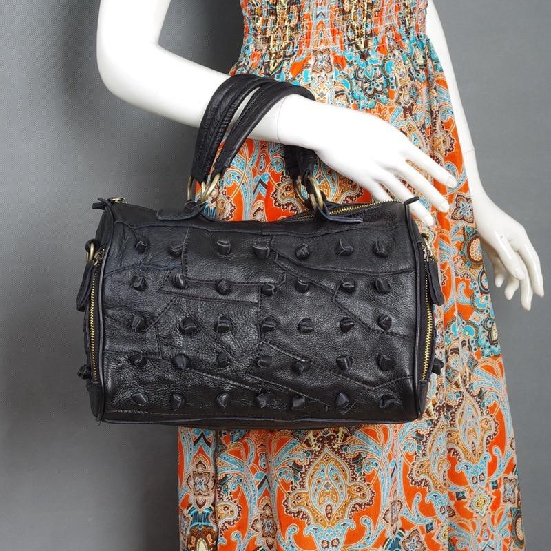 Haricots Et 482 Layer De À Peau Carry Top Mode Main Sac Coloration Femmes Nouvelle Oblique Bandoulière noir Couleur Colorful Vache Sacs ArqwAazn