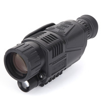 Infrared Digital Night Vision Monocular Scope 5x40 For 200Meter Zoom 5X IR 5MP Digital Camera Video