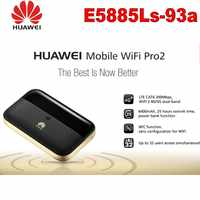 Huawei E5885Ls-93a Mobile WiFi Pro2 Router RJ45 portu 4G + FDD: b1/B2/B3/B4/B5/B7/B8/B20/B19 TDD: b38/B40/B41 (2555-2655 MHz) 6400 Mah