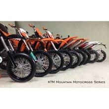 1:12 KTM Dağ Motocross Off Road Motosiklet Modeli Koleksiyonu şekilli kalıp Bitmiş Ürün Statik