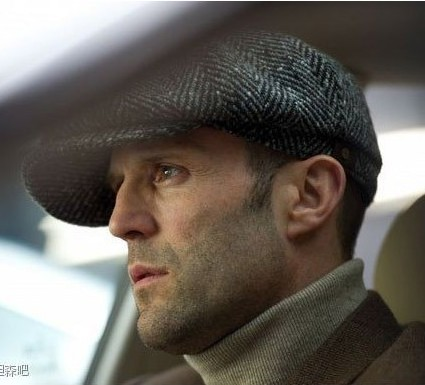 ea2b197b907 Jason Statham Fashion Octagonal Cap Newsboy Beret Hat Autumn Winter Hats  For Men s Popular Design Handsome Plaid Casual Hat