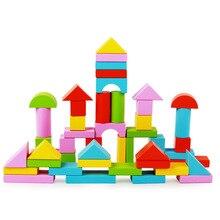 新カラフルな 50 個木製玩具ブロック子供のソフトevaブロック子供のためのセット教育ソフトモンテッソーリインテリジェントおもちゃギフト