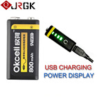 Rechargeable Battery USB OKcell 9V 800mAh Battery For Helicopter Part USB Rechargeable 5.0v Battery for RC Helicopter Model