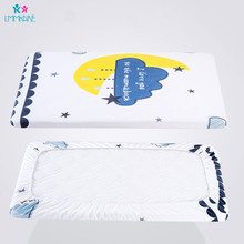 Fox Lion Knitting Cotton Crib Fitted Sheet Soft Breathable Baby Bed Mattress Cover Potector Newborn Bedding Cot Plus Size
