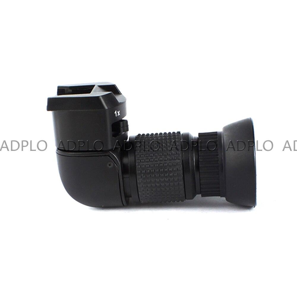 Pixco 1-2.0x détecteur à Angle droit pour Canon pour Sony pour Pentax pour Fujifilm 1x-2x viseur à angle droit - 2