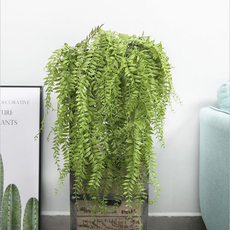 90cm Artificial Drip grass plastic plants wall Hanging Vine Rattan For Home garden Decoration fleur artificielle faux foliage