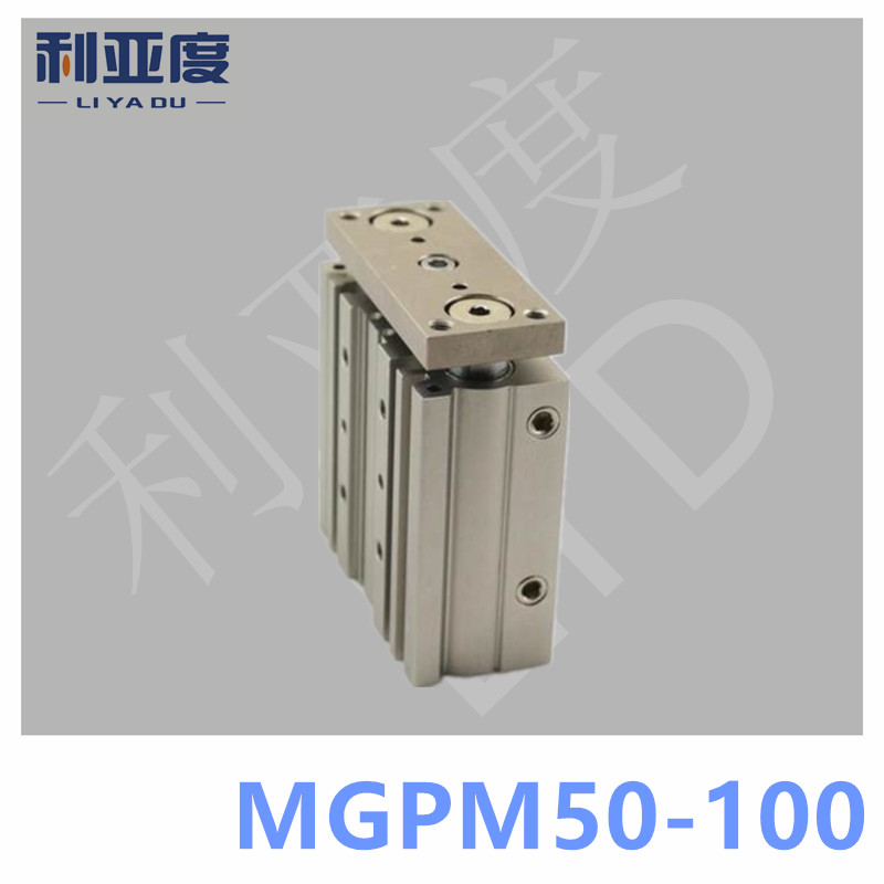 SMC Type MGPM50-100 Thin cylinder with rod MGPM 50-100 Three axis three bar MGPM50*100 Pneumatic components MGPM50X100 satin furniture бюро