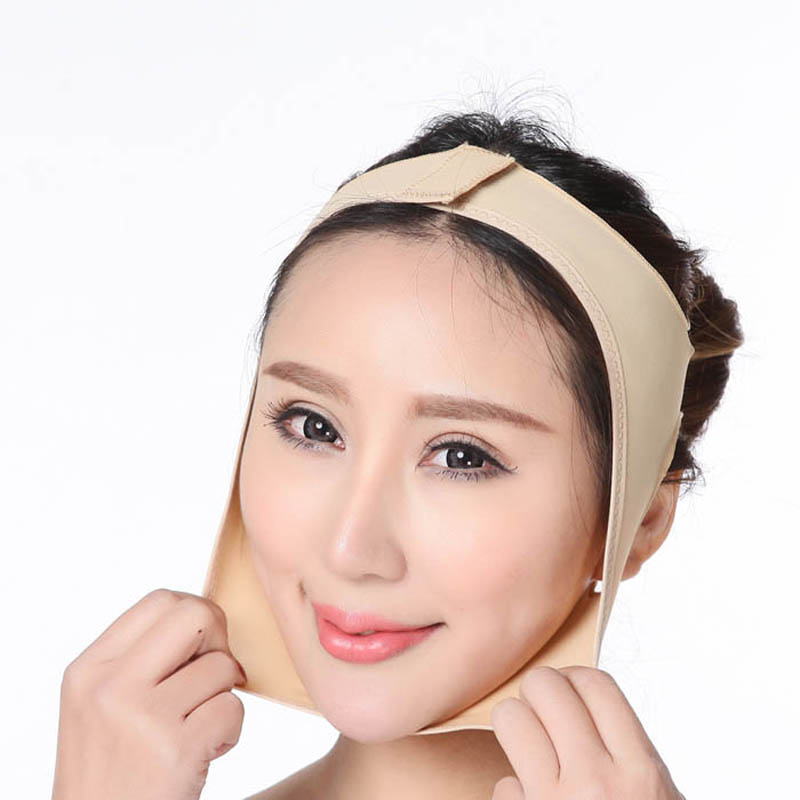 Breathable Lift Bandage V Device Sleep Thin Mask Face Massage Face-lift Instrument Tools