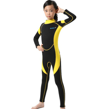 f46bbc36d7 2.5MM Neoprene Wetsuits Kids Swimwears Diving Suits Long Sleeves Boys Girls  Surfing Children Rash Guards Snorkel One Pieces h2