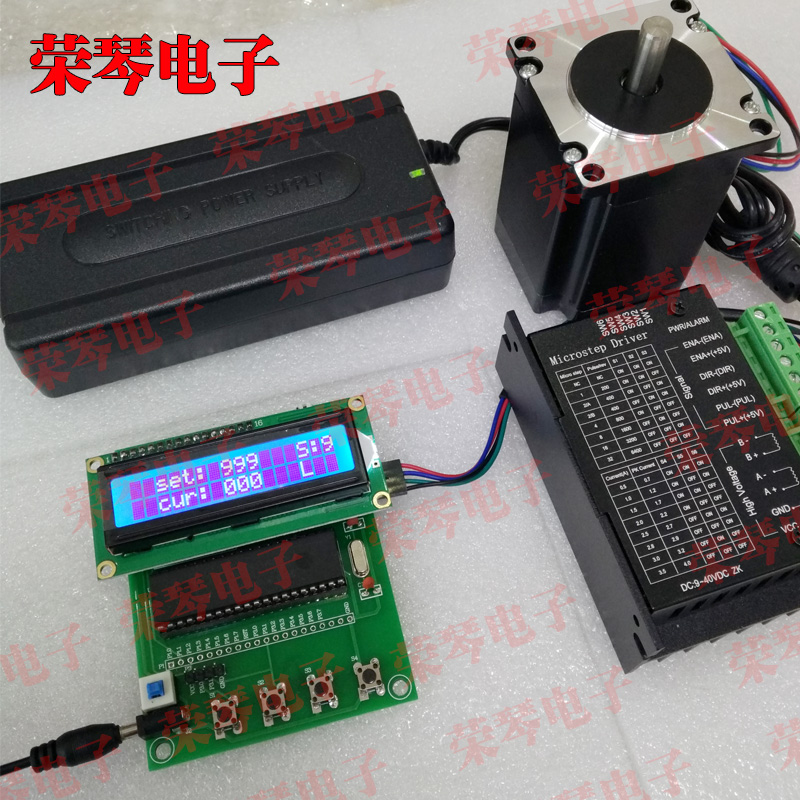 57 step motor set rotation number control stepper motor driver control board driver board controller nema24 3nm 425oz in integrated closed loop stepper motor with driver 36vdc jmc ihss60 36 30