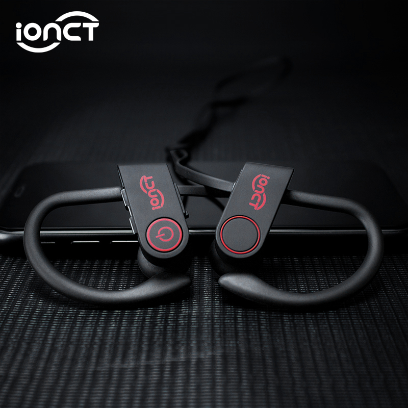 iONCT IPX7 Waterproof 5 0 Bluetooth earphone Noise Cancelling HiFi Stereo wireless earphones headphone Sports Earbuds for phone