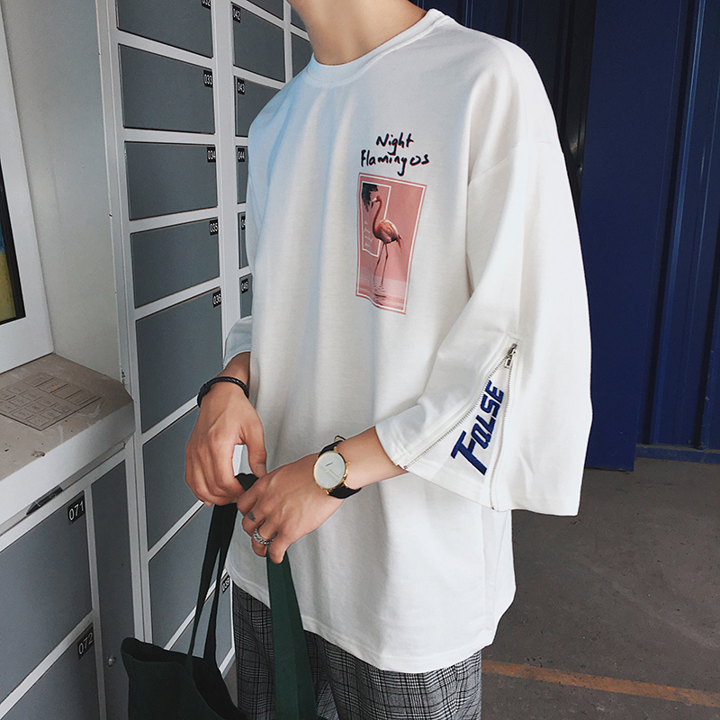 Goods In Stock T Pity Male Xiabanxiu Trend Summer Tide black and white The new listing Fashion Free shipping Favourite