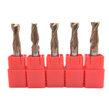 5PCS 2Flute END MILL 10mm Long 75mm 100mm HRC60 Solid Carbide Spiral End Mills Slotting  Milling Tool Router Bit