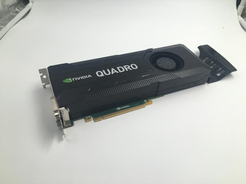 used like new Quadro K5000 MNVJT JFN25 <font><b>4GB</b></font> GDDR5 PCIe 2.0 x16 Kepler <font><b>GPU</b></font> Graphics Processing Unit Video Card image