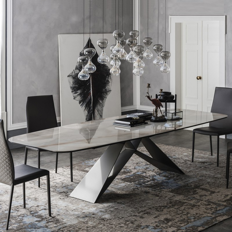 Marble Dining Table Postmodern
