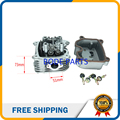 200cc GY6 Cylinder Head with 4 valve for Tuned GY6 125cc Engine ATV PIT BIKE MOTORCYCLE GT-185