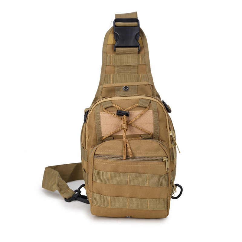2019 new men's chest  Oxford  Messenger  men's shoulder  Korean small backpack leisure waists bag
