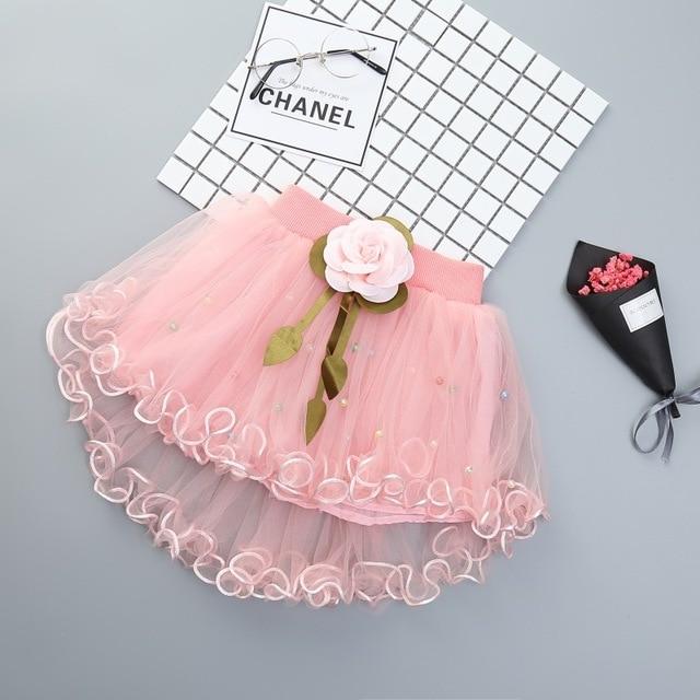 2019 thời trang bé váy mùa hè váy quần áo trẻ em 0-2years ren váy