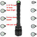 Factory direct Super Bright 3800-20000Lm Flashlight 3T6 3-14 T6 LED Lamp Torch 5 Mode Flash Light Lanterna Hunting by 3x18650