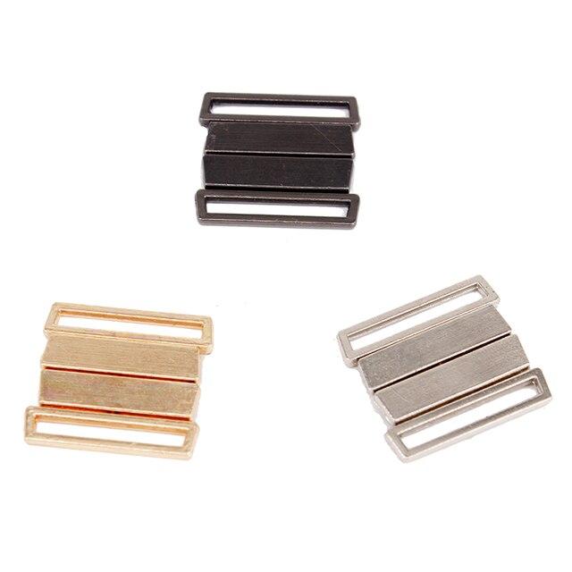 10set Metal Tape Closure Closure Waist Extender Hooks & Eyes Clasps Sewing Garment Clasps Hooks for Bra Swimsuit 25*27mm NK283