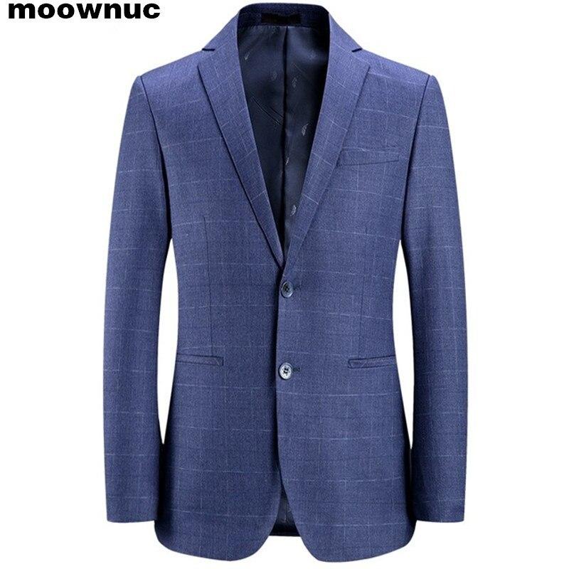 Мужской деловой пиджак, классический приталенный Блейзер для весны, 2019