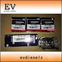 Подходит для генераторной установки l3e коленчатого вала/главный подшипник mm438 799 и шатун/con стержня 30l19 02010