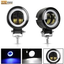 hot deal buy 2 pcs 3 inch 20w led night bar lights portable spotlights round offroad truck driving car boat led work light 12v 24v 6500k
