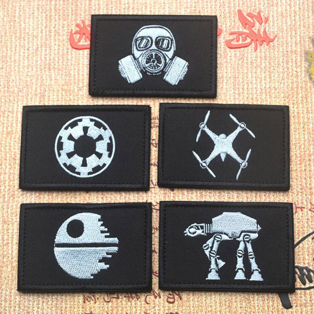 Star wars series badge empire galaxy imperial embroidered armband free shipping