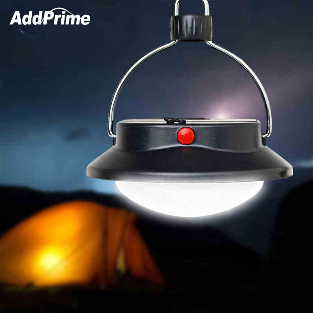 60 Leds LED Camping Light Hanging Tent Lamp Outdoor Hiking Portable LED Lantern 18650/AAA Battery Emergency Night Light Lamps