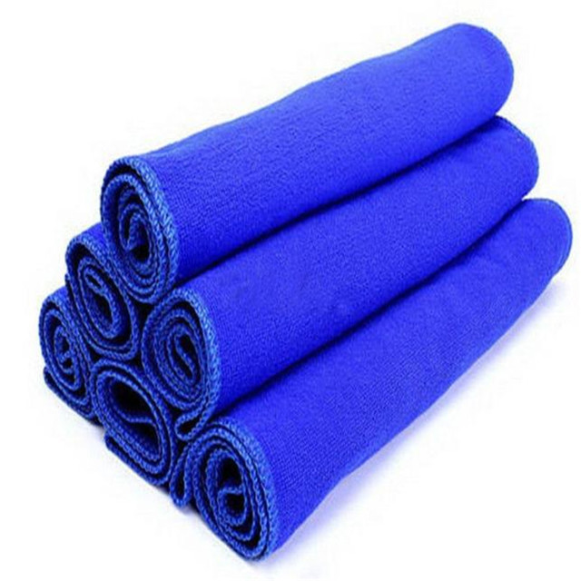 Car Soft Microfiber Cleaning Towel Car Wash Dry Clean Polish Cloth Motorcycle Detailing Care Kitchen Housework Towel