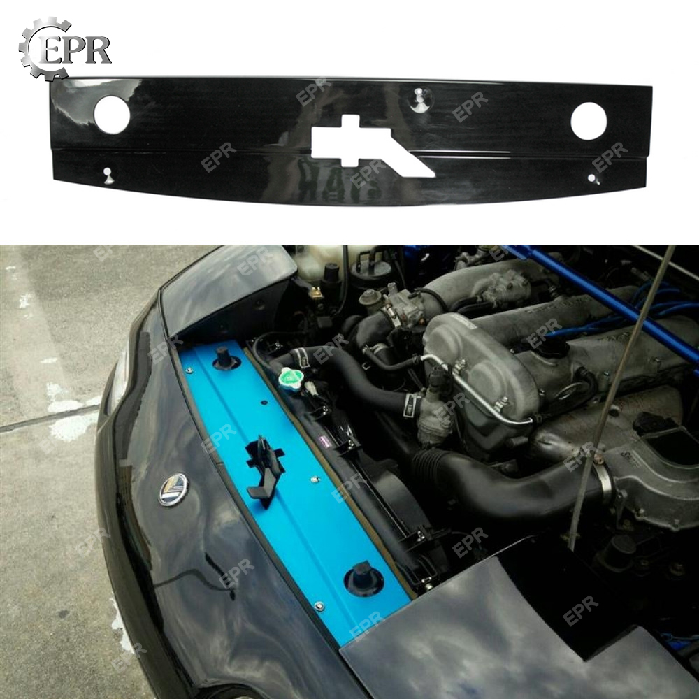 For <font><b>Mazda</b></font> MX5 <font><b>NA</b></font> FRP Glass Fiber Radiator Cooling Panel Body Kit Tuning Part Trim For MX5 <font><b>NA</b></font> Fiberglass Cooling Panel image