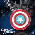 Капитан америка ожерелье супергероя старинные щит логотип ювелирные изделия для мужчин и женщин оптовая продажа