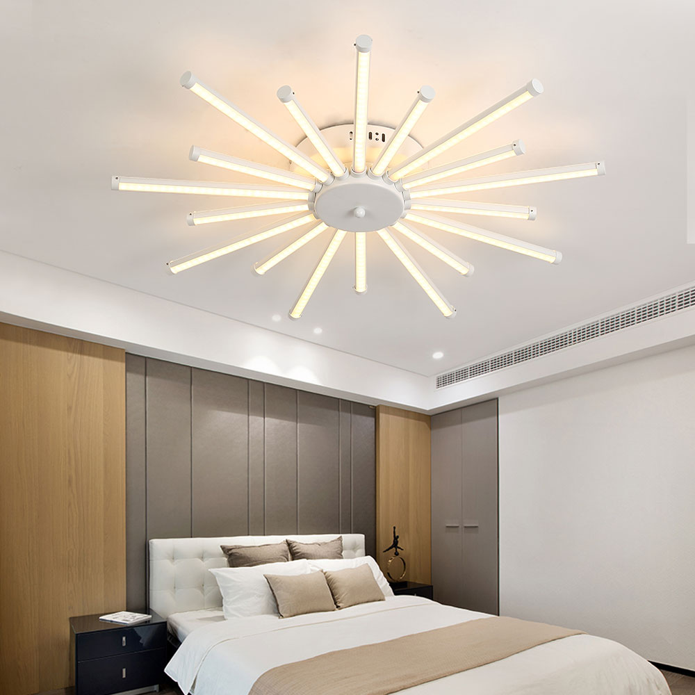 Ceiling Lights Led Lamp Ceiling Lustre Remote Control Dimming ...