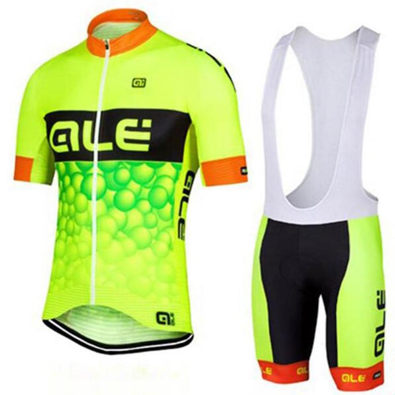 Prix pour 2017 Ale de Manches Courtes hommes Vélo maillot porter des Vêtements maillot ropa bici ciclismo vtt vélo Vélo vêtements