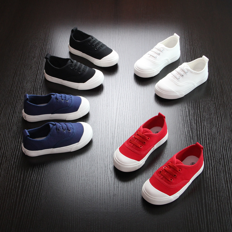 Childrens Canvas Childrens Shoes Boys and Girls Casual Fashion Lazy ShoesChildrens Canvas Childrens Shoes Boys and Girls Casual Fashion Lazy Shoes