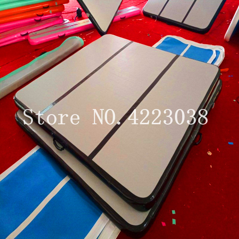 Free Shipping 3*3*0.2m Air Track Inflatable Air Track Floor Home Gymnastics Tumbling Mat Inflatable GymnasticsFree Shipping 3*3*0.2m Air Track Inflatable Air Track Floor Home Gymnastics Tumbling Mat Inflatable Gymnastics