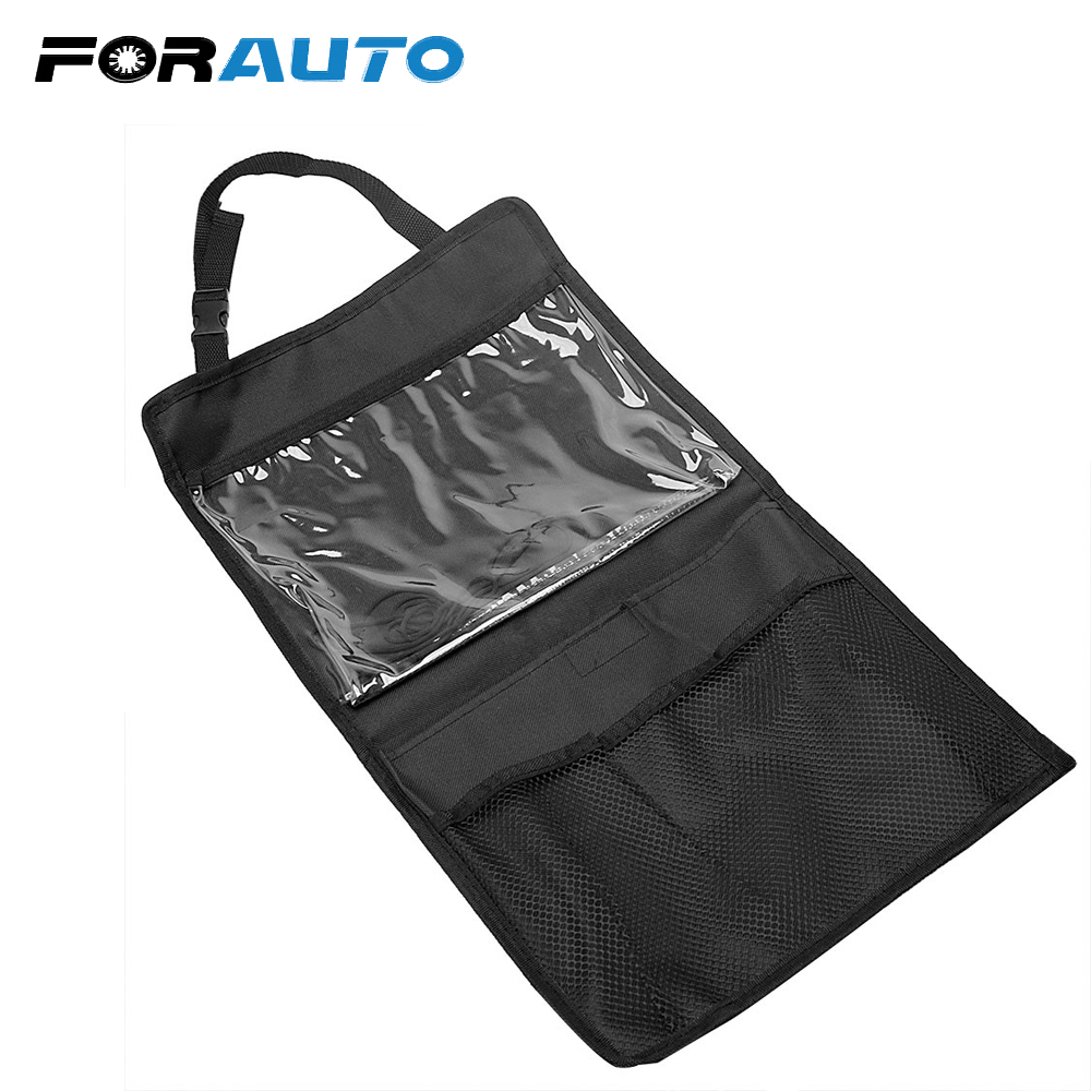 FORAUTO Interior Seat Back Organizer For Tablet Universal Car Accessory
