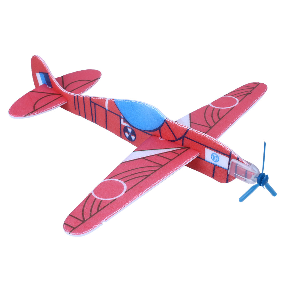 12Pcs DIY Aircraft Model Flying Glider Air Planes Bag Fillers Childrens Kids Toys Game Gift Model Brinquedos