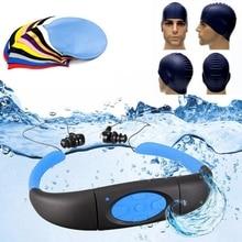 Плавающий колпачок водонепроницаемый спортивный MP3 музыкальный плеер FM Радио стерео аудио наушники подводный шейный плавающий ming подводная гарнитура