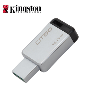 Kingston Digital DT50 USB 3.0 USB Flash Drive 16GB Pendrive 128GB 32GB Pendrive 64GBGB Metal Pen Drives 8GB Memory U Stick USB-флеш-накопитель