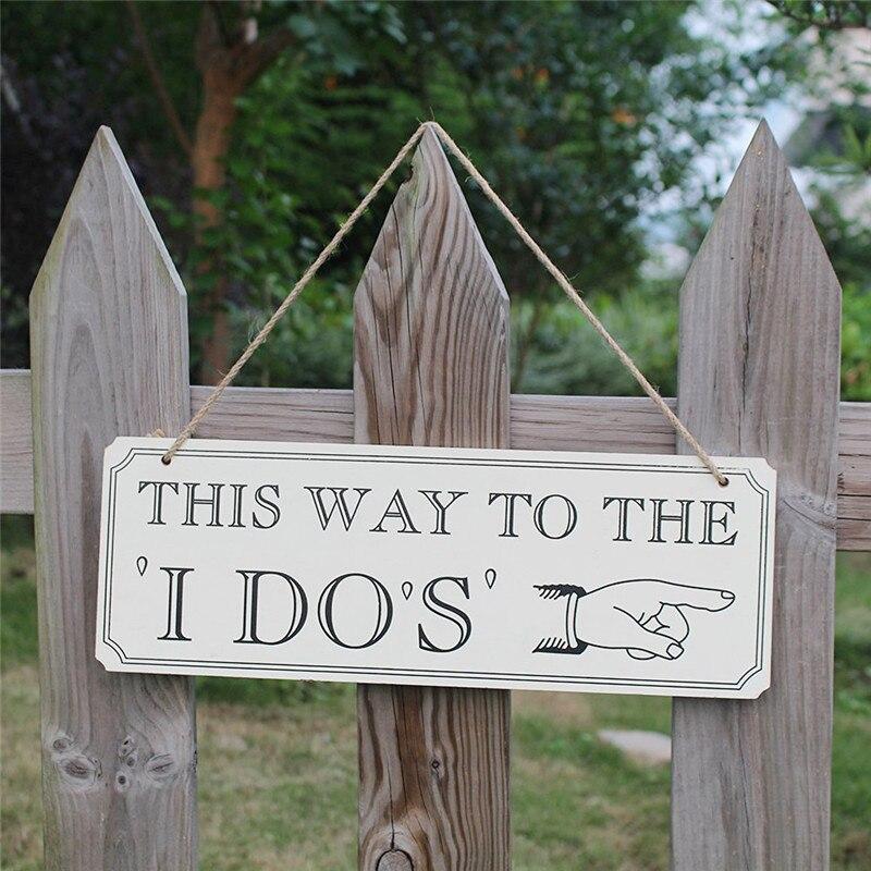 Таким образом, чтобы Я dos Винтаж деревянный сигнал обратного отсчета знак Свадебных Мероприятий висит декоративные индикатор Свадебные у...