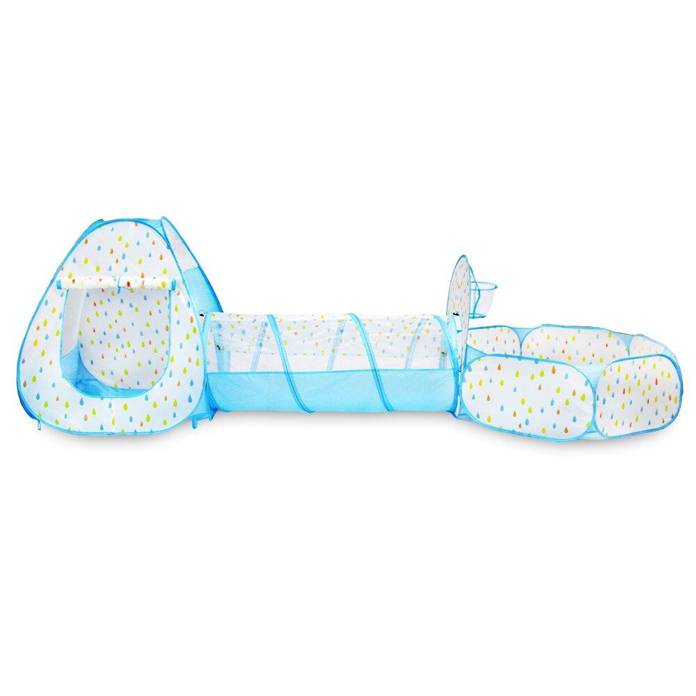 Enfants jouet tentes ramper jouer tente pour bébé tissu maison enfants jouet balle piscine pour Tunnel océan balle jouer doux plein air Fun Sports